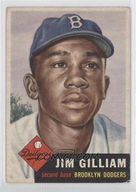 1953 Topps #258 - Jim Gilliam