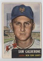 Sam Calderone [Good to VG‑EX]
