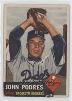 John Podres [Poor to Fair]