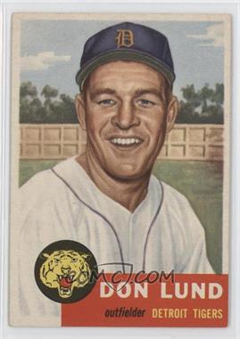 1953 Topps #277 - Don Lund