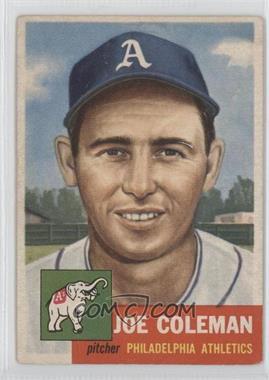 1953 Topps #279 - Joe Coleman