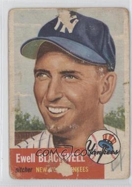 1953 Topps #31 - Ewell Blackwell