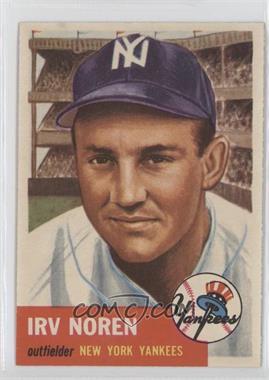 1953 Topps #35 - Irv Noren