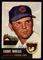 Eddie Miksis [EX]