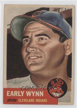 1953 Topps #61 - Early Wynn
