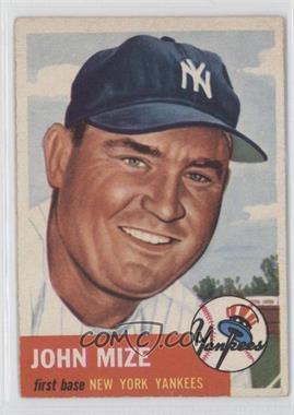 1953 Topps #77 - John Mize