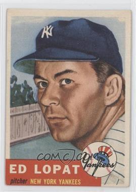 1953 Topps #87 - Ed Lopat