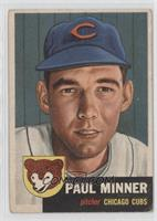 Paul Minner [Good to VG‑EX]