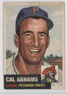 1953 Topps #98 - Cal Abrams [GoodtoVG‑EX]