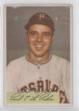 1954 Bowman #107 - Paul LaPalme