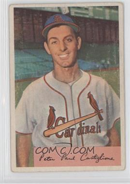 1954 Bowman #174.1 - Pete Castiglione (Field Avg. .970/.959) [GoodtoVG‑EX]
