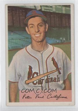 1954 Bowman #1741 - Pete Castiglione (Field Avg. .970/.959) [Good to VG‑EX]