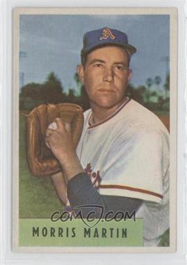 1954 Bowman #179.1 - Morris Martin (E.R.A. 4.44)