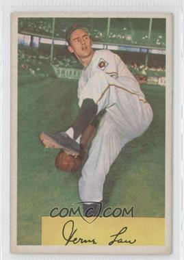 1954 Bowman #187 - Vern Law