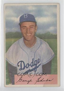 1954 Bowman #202 - George Shuba [Good to VG‑EX]
