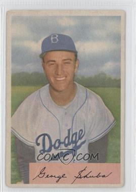 1954 Bowman #202 - George Shuba [GoodtoVG‑EX]