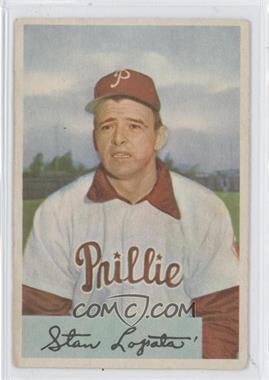 1954 Bowman #207 - Stan Lopata