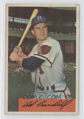 1954 Bowman #32 - Del Crandall