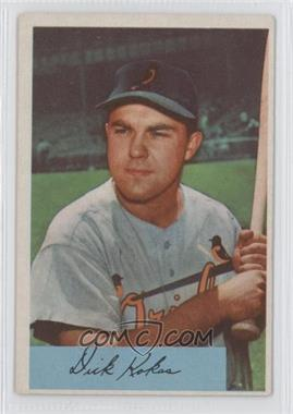 1954 Bowman #37 - Dick Kokos