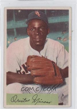 1954 Bowman #38.1 - Minnie Minoso (Field Avg: .895 .961)