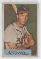 Eddie Mathews [Good to VG‑EX]