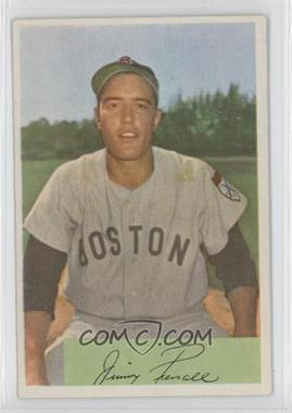 1954 Bowman #66 - Jim Piersall