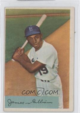 1954 Bowman #74 - Jim Gilliam