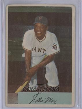 1954 Bowman #89 - Willie Mays