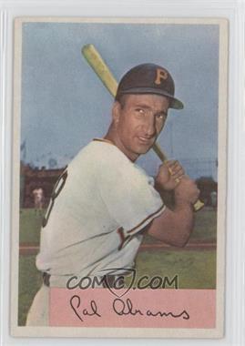 1954 Bowman #91 - Cal Abrams