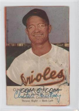 1954 Esskay Meats Baltimore Orioles #N/A - Clint Courtney [Good to VG‑EX]
