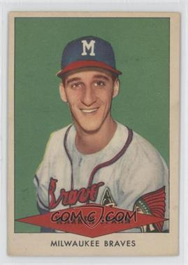 1954 Red Heart #WASP - Warren Spahn