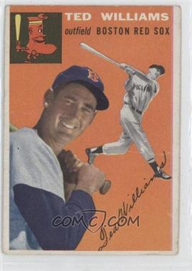 1954 Topps - [Base] #1 - Ted Williams [Good to VG‑EX]