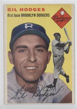 1954 Topps - [Base] #102 - Gil Hodges