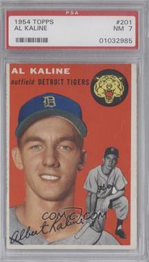 1954 Topps - [Base] #201 - Al Kaline [PSA7]