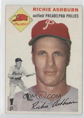 1954 Topps - [Base] #45 - Richie Ashburn