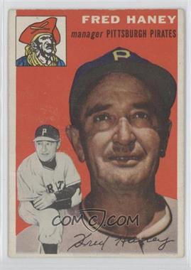 1954 Topps - [Base] #75 - Fred Haney