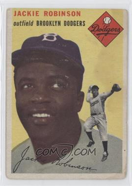 1954 Topps #10 - Jackie Robinson