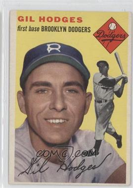 1954 Topps #102 - Gil Hodges