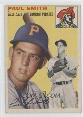 1954 Topps #11 - Paul Smith