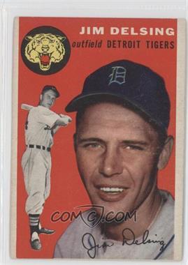 1954 Topps #111 - Jim Delsing