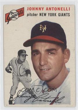 1954 Topps #119 - Johnny Antonelli
