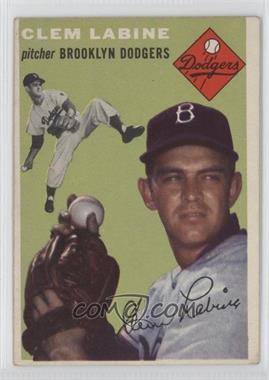 1954 Topps #121 - Clem Labine