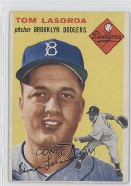 1954 Topps #132 - Tom Lasorda [GoodtoVG‑EX]