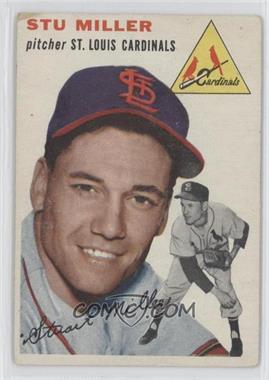 1954 Topps #164 - Stu Miller