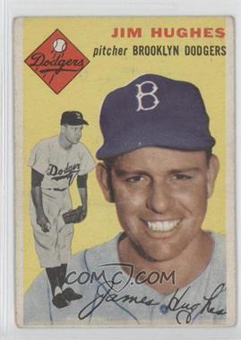 1954 Topps #169 - Jim Hughes