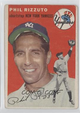 1954 Topps #17 - Phil Rizzuto