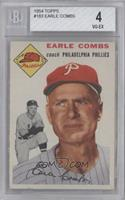 Earle Combs [BGS 4]