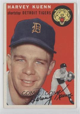 1954 Topps #25 - Harvey Kuenn