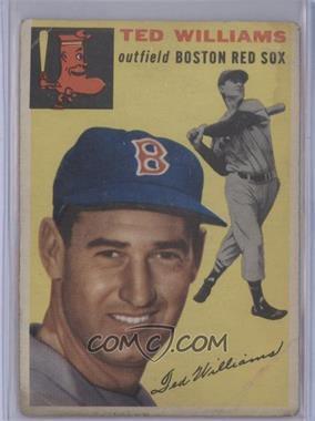 1954 Topps #250 - Ted Williams [Poor to Fair]
