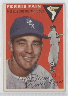 1954 Topps #27 - Ferris Fain
